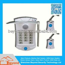 Emergency Aid Yard Senior Care Alarm with Wearable Wrist and Neck Button