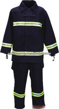 Men protective firefighter clothing