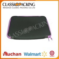High end beautiful promotional soft neoprene laptop case