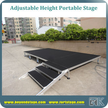 Wholesale stage with custom roof truss, square lighting truss for sale