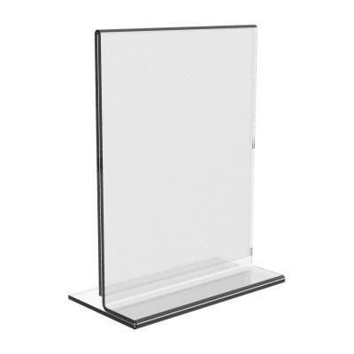 Clear Acrylic Paper Holder Sign Leaflet Holder Lucite Photo Frames