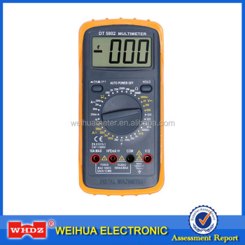 Large Screen Digital Multimeter DT5802 with Capacitance test Auto Power Off