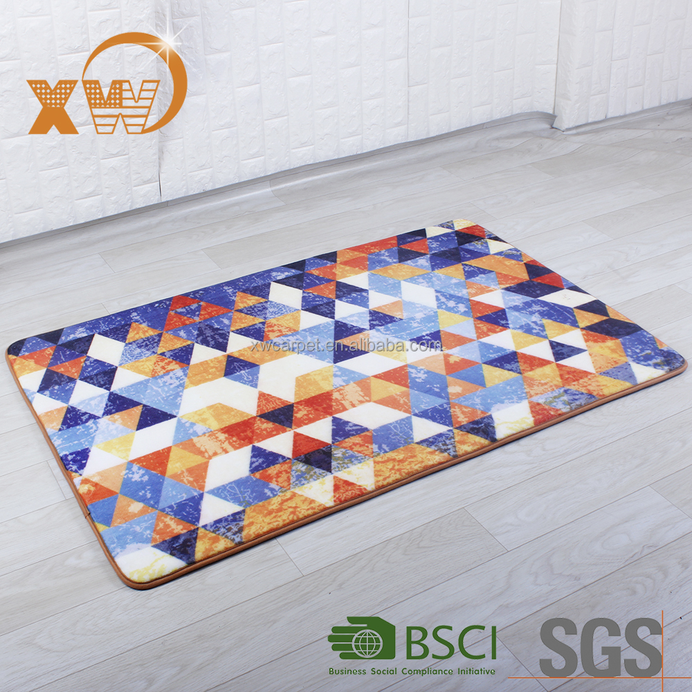 XINGWANG New designs Custom digital printing floor carpet