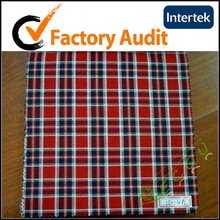 yarn dyed fabric of men's shirting
