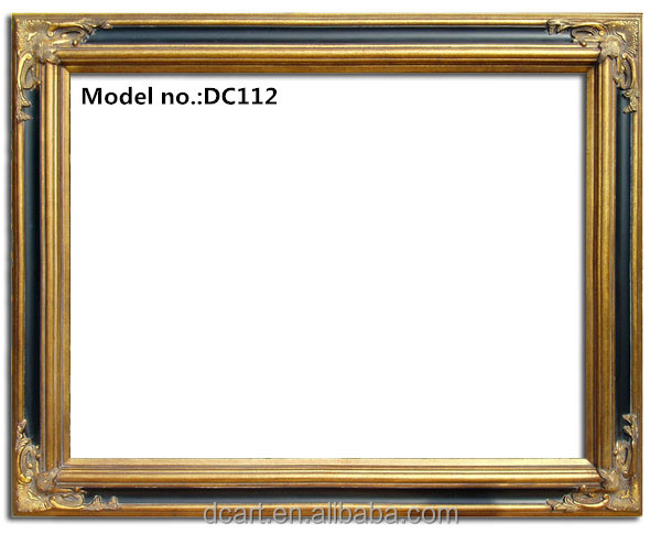 Solid wood frame wholesale picture painting frames antique for Craft picture frames bulk