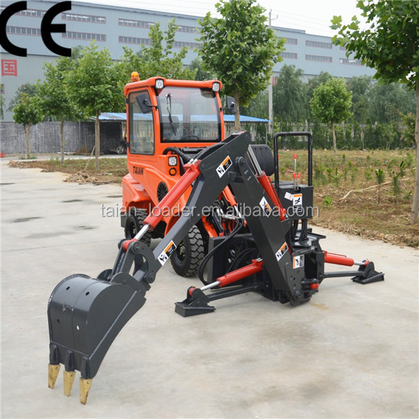 4 wheel drive tractor with front loader DY840 garden tractor loader for sale