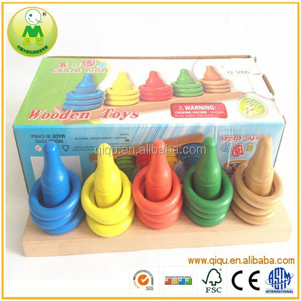 Baby Tossing Ring Intelligent Ferrule Game For Kids