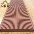 Wood plastic composite decking for outdoor garden