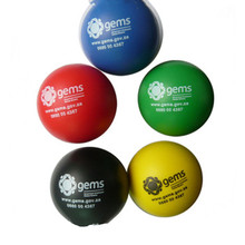 Custom Logo Pu Foam Round Small Size Anti Stress Ball