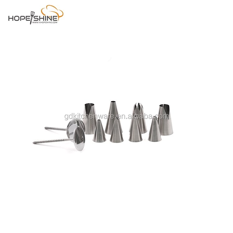 decorating piping tools set stainless steel decorating nozzle