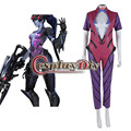 OW Widowmaker Cosplay Costume Jumpsuit Adult Women Halloween Game Costume