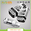 Rebuildable Tank Atomizer 100% Original OBS ACE RBA Tank 4.5ml OBS ACE RBA Side Filling Ceramic Coil& Top Airflow Control
