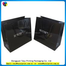 Customized printed kraft euro tote paper bags
