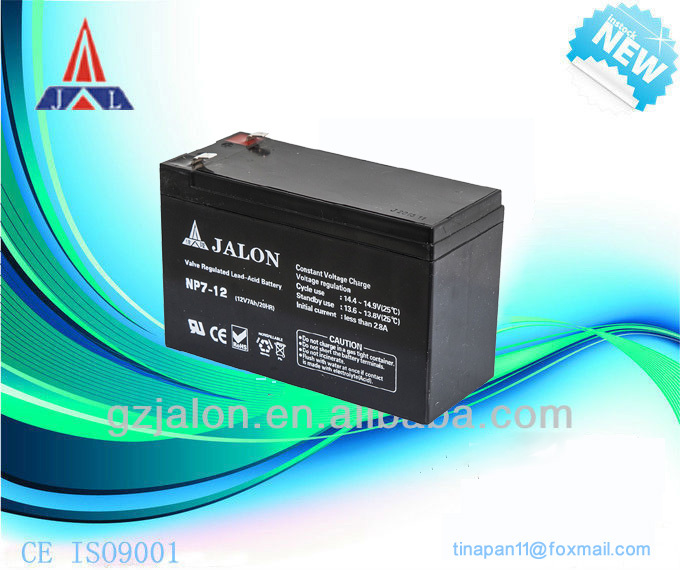 vrla ups battery 12v 7ah, 8ah ups battery bank