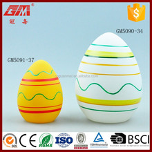 factory supplier decorative glass egg for easter