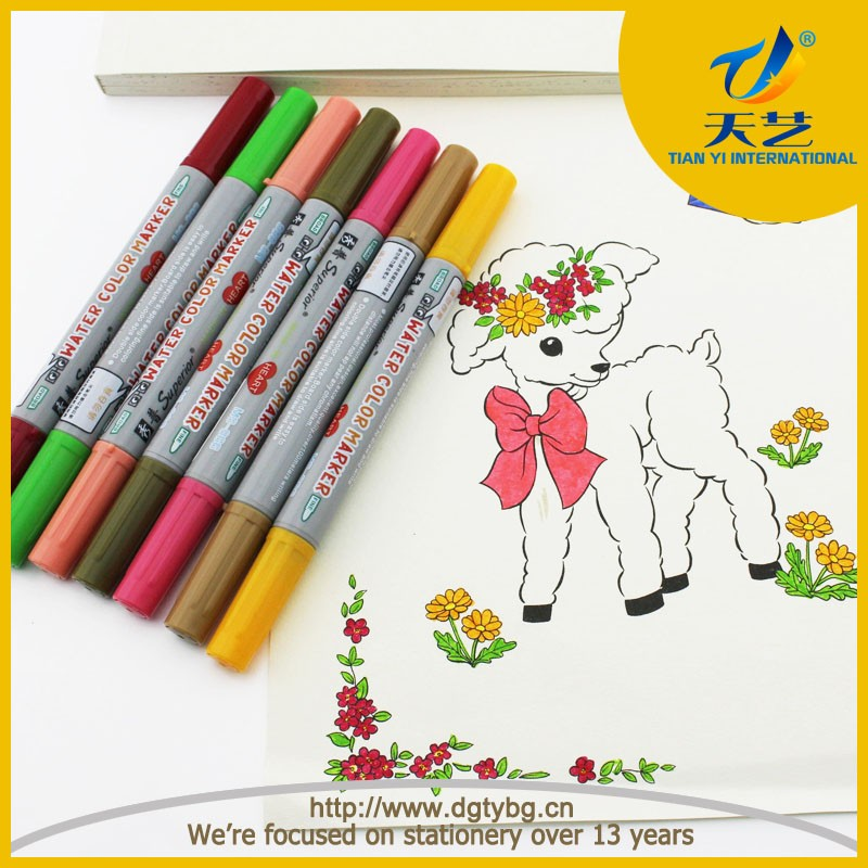 School stationery set twist tips water color pen