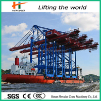 CE approved quayside container ship loader & unloader crane for sale