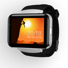 DM98 Smart Watch mobile phone 2.2 Inch Android 4.4 OS 3G Smartwatch Phone MTK6572 Dual Core 1.2GHz 4GB ROM