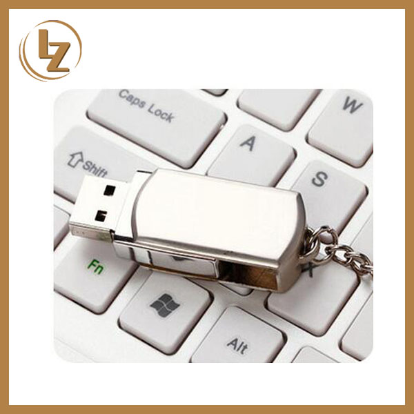 Customizable Logo USB2.0 and USB3.0 Swivel Mini Metal USB Flash Drive