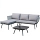 Modern Outdoor Rope Sofa Set rope outdoor furniture Garden furniture rope outdoor garden set garden sofa cheap corner sofa bed