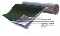 construction materials: polyester roofing waterproof membrane, 1m x 10m/roll