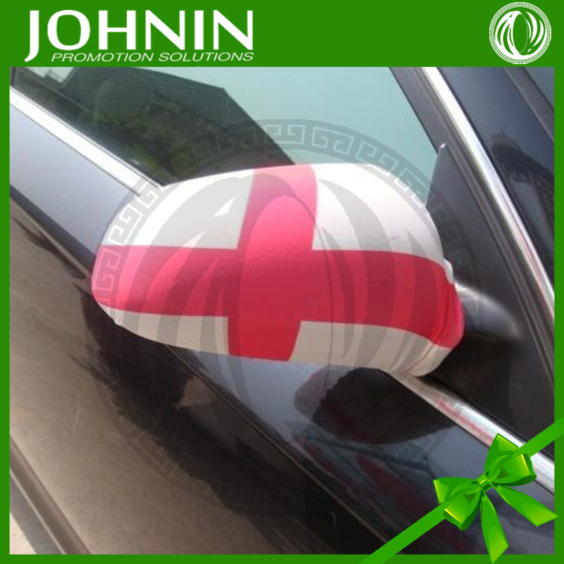 decorating ideas polyester cheap car accessory England car mirror cover flags products