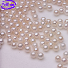 5.5-6mm AAA round freshwater cultured pearl manufacturer natural pearl loose beads