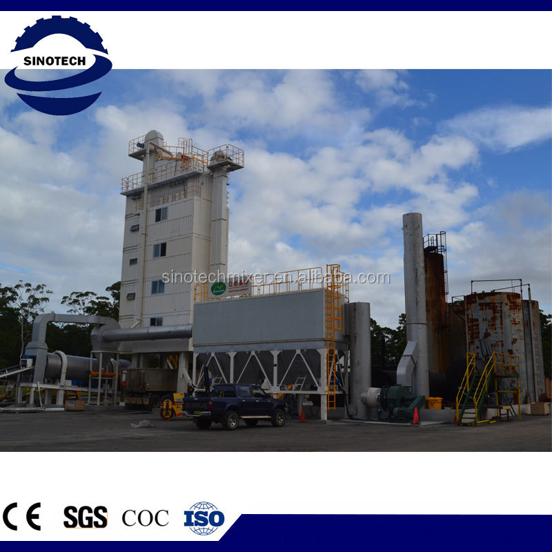 ELB1500 Environmentally Asphalt Mixing Plant/double drum asphalt plant