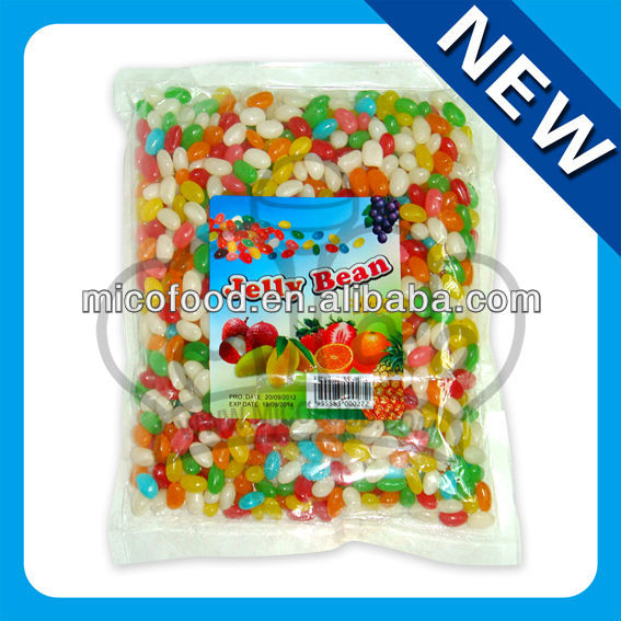 1kg halal jelly bean candy mixed flavor bulk jelly bean