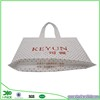 Garment promotional recycled shopping plastic bag with logo printed