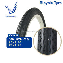 16X1.75 16x1.95 16x2.125 Solid Rubber Bicycle Tyre