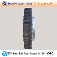 high precision low noise flat belt drive pulley