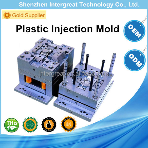 2015 high precision china plastic mold supplier for different types/Custom make high precision plastic molding and plastic mold