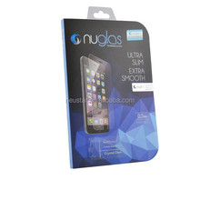 Custom design clear tempered glass screen protector for iPhone 5 ,expert on OEM/ODM desing packing