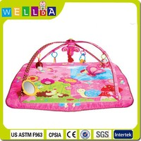Lovely Princess Move & Play Baby Playmat