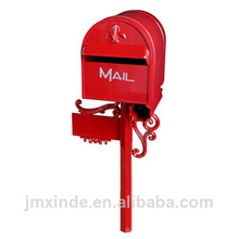 Hardware manufacturer stainless steel mail box wholesale cast aluminum mailboxes