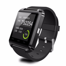 Low pirce free sample smart watch U8 for Android and IOS system smart watch U8