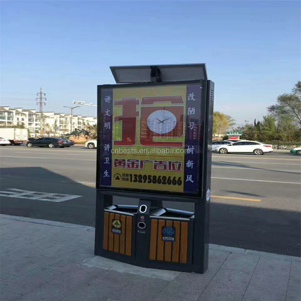 Solar advertising light box Solar ad lamp box
