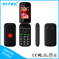 Oem Acceptable 2.4 inch GSM Elderly Use Big Font Dual Sim China Mobile Phone