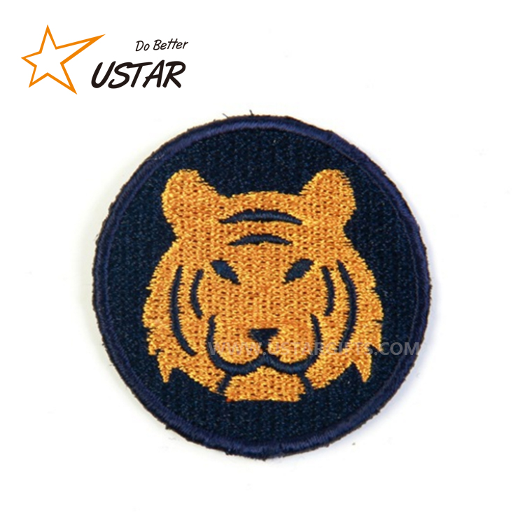 Custom Best Promotional Items Applique Embroidered Sew Iron On Patch High Quality Iron-on Embroidery Patches, Embroidery Badge