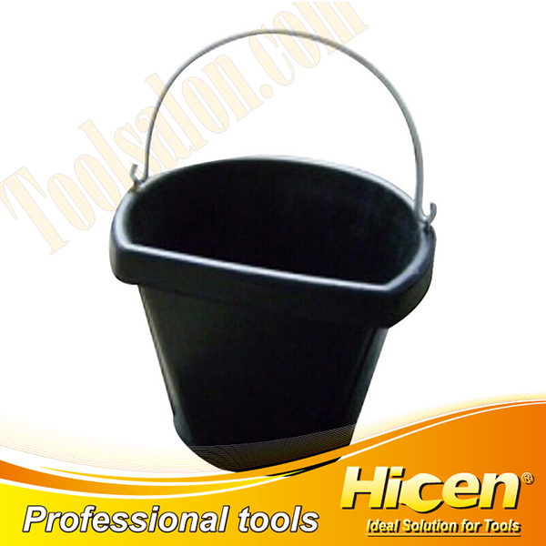 Different Shaped 18QT Rubber Bucket