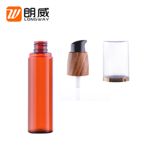 custom design yuyao cosmetic bottle packaging 50ml 80ml recycled small plastic pump spray bottles