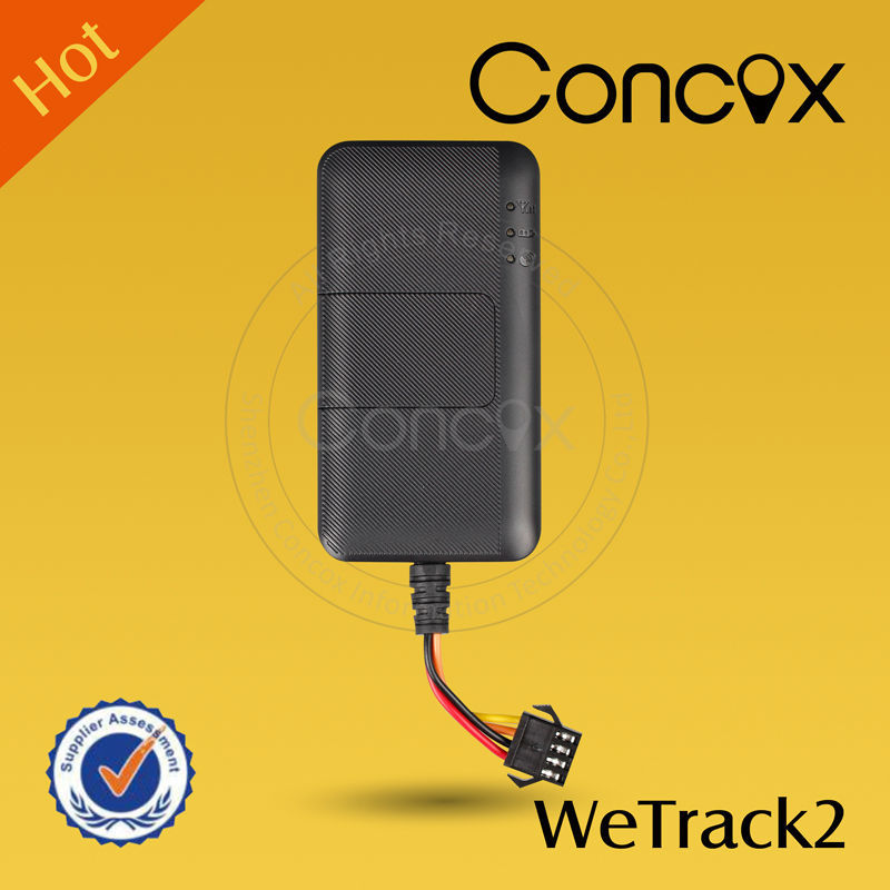 2016 hot selling CONCOX Wetrack2 tricycle scooter tracked by SMS, APP, Web.