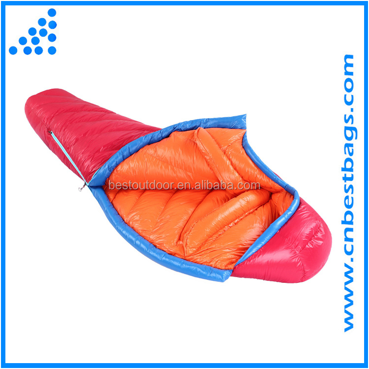 Outdoor Camping Ultralight Adult Goose Down Sleeping Bag