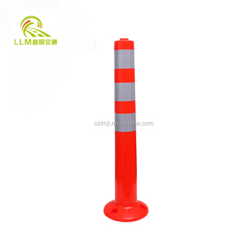 Cheapest price new TPU reflective warning flexible delineator post