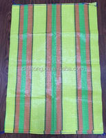 Powerful,Strength,Reliance pp woven bag used for packing food,agriculture,industry,with blue stripes on two boards