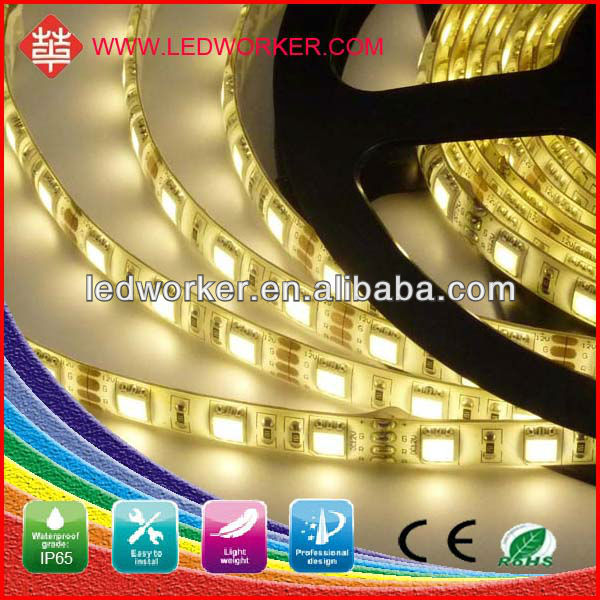CE ROHS 2 years warranty 5050 waterproof 12v flexible battery pack powered led strip light