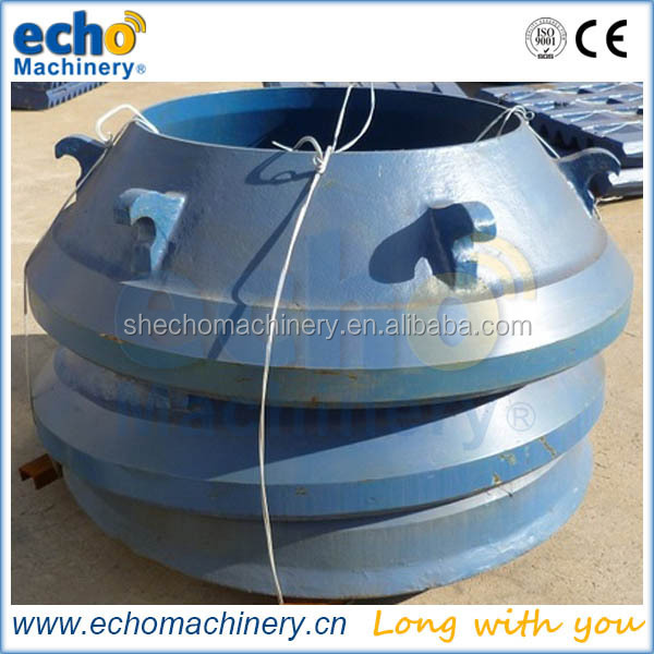 Telsmith cone crusher spare parts for quarry in European market