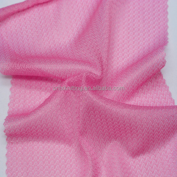 light weight jersey fabric for tracksuits, knitted warp polyester lining fabric