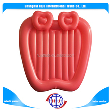 2017 wholesale inflatable giant double apple pool float